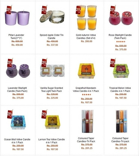 Make Your Ultimate Selection To Buy Perfect Diwali Candles Online | LED Lighting Products | LED Lights | Scoop.it