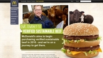 McDonald's Corp. looks to use sustainable beef by 2016 | Sustainability content from Nation's Restaurant News | People Profits Planet | Scoop.it