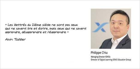 Un MOOC comme cahier de vacances ? Rencontre avec Philippe Chiu, Managing Director IONISx | Ingénierie pédagogique, formation à distance, réseaux sociaux, innovations web | Scoop.it