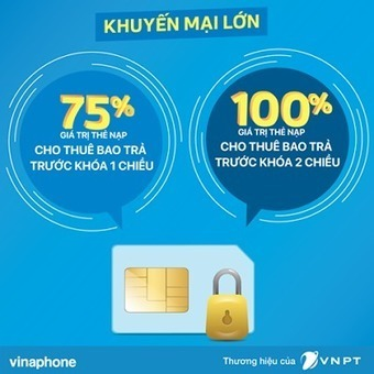 Vinaphone khuyến mãi 75%, 100% cho thuê bao bị khóa 1 - 2 chiều   Trao Doi   Scoop.it