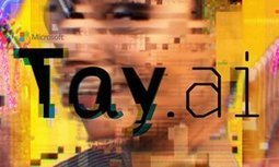Tay, Microsoft's AI chatbot, gets a crash course in racism from Twitter   The Rise of the Algorithmic Medium   Scoop.it