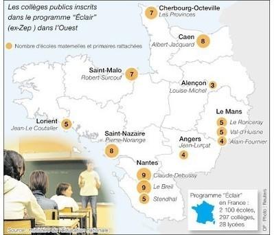 L'éducation prioritairevoulait partager la réussite - ouest-france.fr | L'enseignement dans tous ses états. | Scoop.it