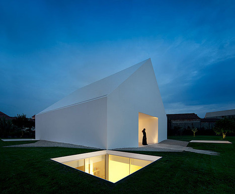 Ultra Modern Windowless White House in Portugal | The Architecture of the City | Scoop.it