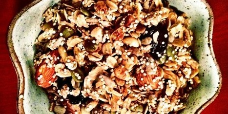 Crunchy Quinoa Granola | Healthy Recipes In Cooking Blogs | Scoop.it