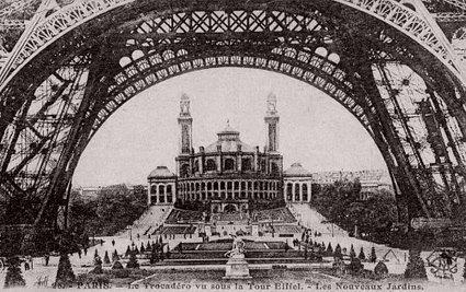 Panorama disparu ou Paris défiguré par les aménagements successifs des Expositions universelles ?   Auprès de nos Racines - Généalogie   Scoop.it