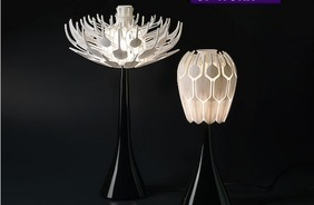3D-Printed Flower Lamp 'Blooms' To Release More Light [Pics] | Big and Open Data, FabLab, Internet of things | Scoop.it