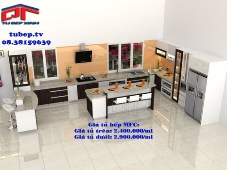 Tu bep | Tủ bếp MFC | Tủ bếp Acrylic | Tủ bếp đẹp - TỦ BẾP MFC GIA ĐÌNH ANH TOÀN, BÌNH THẠNH | Dịch vụ di động | Scoop.it