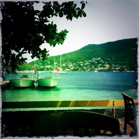 Twitter / SarahFMayhew: Morning coffee at the ... | Bequia - All the Best! | Scoop.it