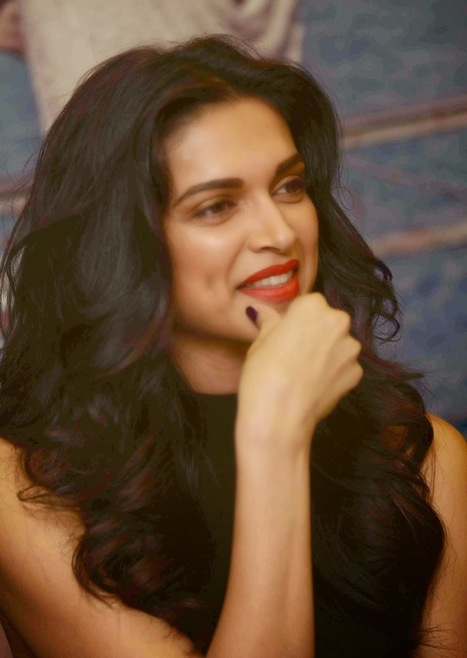 Deepika Padukone in Black Dress at the Launch of Stardust Magazine Cover, Actress, Bollywood, Uncategorized | wigs I like | Scoop.it