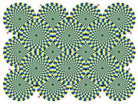 How the Rotating Snakes Optical Illusion Works | Random Ephemera | Scoop.it