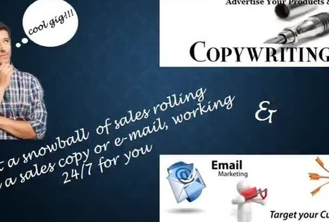 write compelling sales copy or email - fiverr | Story of a Content Writer | Scoop.it
