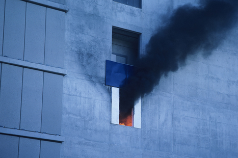 Insolite : Il met le feu à son appartement pour faire partir ses invités | Actu Fun | Scoop.it