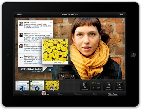 Touchcast - Mix video and embed media | Tools for Learners | Scoop.it