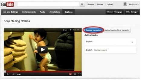 Ya podemos traducir los subtítulos de nuestros vídeos de Youtube en 300 idiomas | CEMAV | Scoop.it