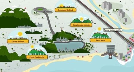 Une application pour cartographier les rues des favelas de Rio | Urban Life | Scoop.it
