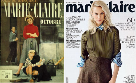 Marie Claire fête ses 60 ans | DocPresseESJ | Scoop.it