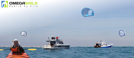 OMEGSAILS : Kites for Stand Up Paddling, canoeing and boating | Kite Surf Innovation | Scoop.it