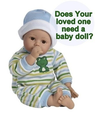 Does your Mom with Alzheimer's / dementia have her Very Own Baby doll? | Alzheimer's Support | Scoop.it