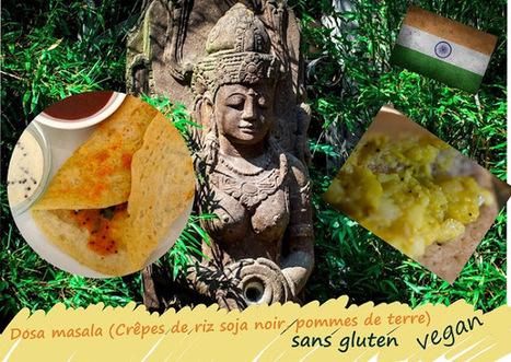 Recette de dosa masala, crêpes de riz et soja noir au curry de pommes de terre (Inde) | Street food : la cuisine du monde de la rue | Scoop.it