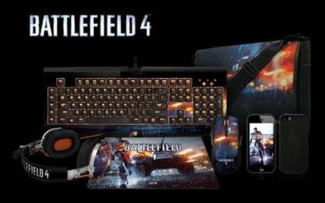 Razer unveils lineup of Battlefield 4 branded gaming peripherals and accessories | Battlefield | Scoop.it