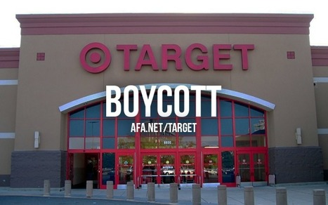 'Pls Sign Petition Boycott #Target Stores Inc. No Trannie Sex Perps in Childrens Restrooms' Pls RT #VIRAL | News You Can Use - NO PINKSLIME | Scoop.it