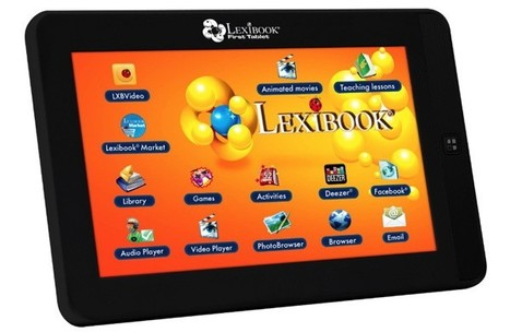Lexibook kids-tablet coming to the US, makes fifth-graders dream of an Aakash | Kids-friendly technologies | Scoop.it