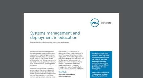 Dell Education KACE Case Study | EuroSys Education | Scoop.it