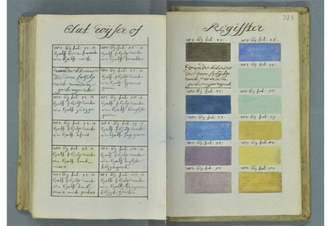 This swatch book from 1692 puts modern Pantone guides to shame | News | Scoop.it