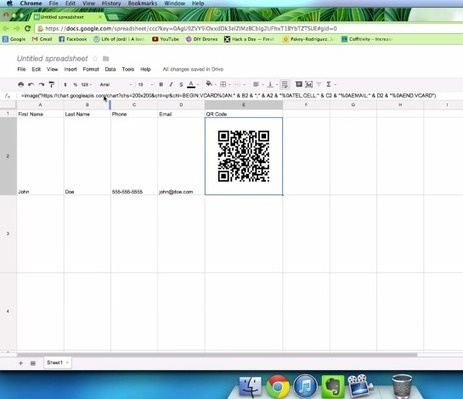 Se puede generar códigos QR con Google Docs | Searching & sharing | Scoop.it
