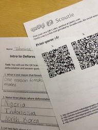iPad QR Scavenger Hunt | Technology in Art And Education | Scoop.it