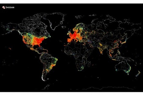 Map Shows All The Devices In The World Connected To The Internet | IFLScience | IB Geography HL Extension PEMBROKE | Scoop.it