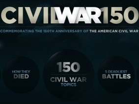 Civil War 150 Interactive -- HISTORY.com | SBS Civil War | Scoop.it