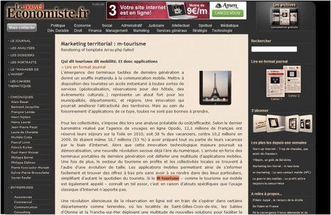 Le Marketing Territorial et le m-Tourisme « Blog Hôtellerie ...   L'Office de Tourisme et le potentiel numérique   Scoop.it