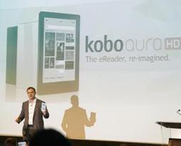 Kobo throws an aura over the London Book Fair   FutureBook   Digital Publishing, Tablets and Smartphones App   Scoop.it