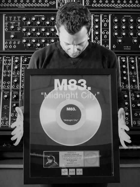 """M83's """"Midnight City"""" went platinium in the USA with more than 1 million copies sold 