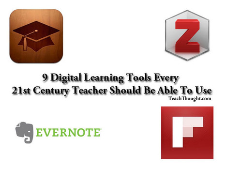 9 Digital Learning Tools Every 21st Century Teacher Should Be Able To Use | TeachThought | Scoop.it