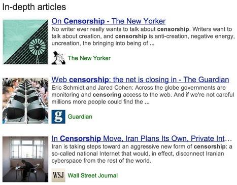 Google met en avant les articles de fond dans ses SERP   Référencement & Réseaux sociaux   Scoop.it