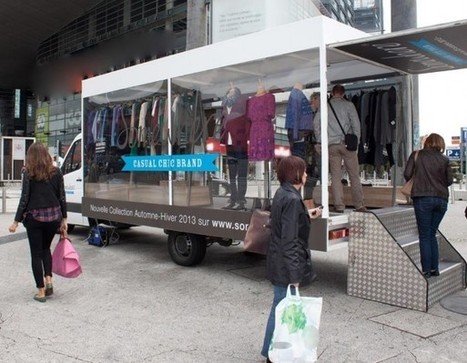 Somewhere fait découvrir sa nouvelle collection avec son Fashion Truck | streetmarketing | Scoop.it