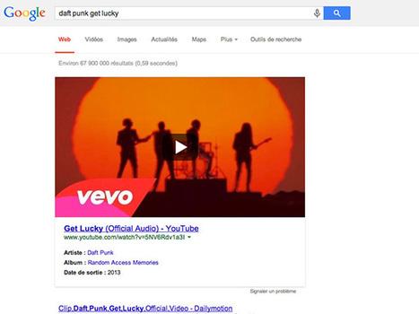 Google est bien décidé à imposer YouTube dans les résultats de nos recherches | Fredzone | GEEK ACADEMY | Scoop.it