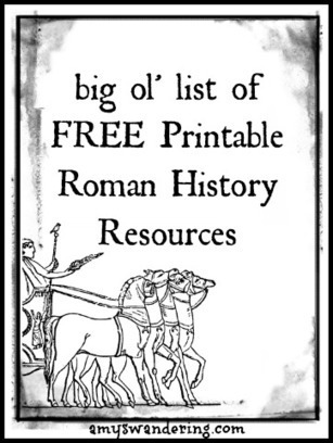 Ancient Rome – Printables Collection | Homeschool Freebie of the ... | Videos on Ancient Rome | Scoop.it