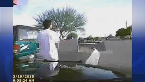 Dashcam video shows Arizona police officer ramming cruiser into robbery suspect | Police Problems and Policy | Scoop.it