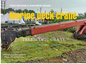 Hydraulic Marine Deck Cranes | Marine Engines Motors and generators | Scoop.it