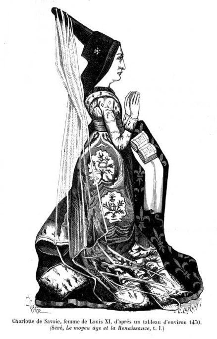 9 mars 1451 à Chambéry mariage de Louis XI et Charlotte de Savoie | Racines de l'Art | Scoop.it
