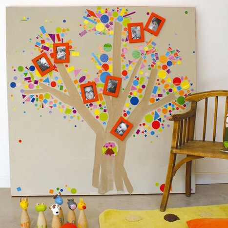 Id e cr ation diy d cora for Decoration murale arbre de vie