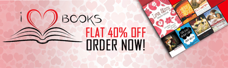 Gift Books on Valentine's Day at Flat 40% Discount | General | Scoop.it