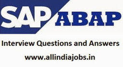 SAP ABAP Interiew Questions and Answers | Freshers Point | Scoop.it