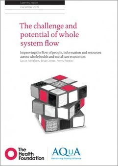 The challenge and potential of whole system flow | The Health Foundation | Counties Manukau Health Library | Scoop.it