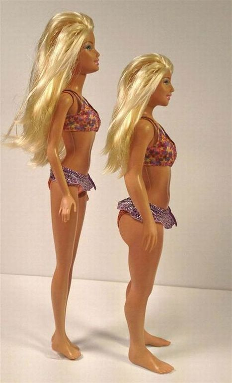 """Artist Creates """"Normal Barbie"""" Using Official CDC Measurements [Pics] 