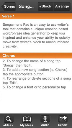 Songwriter's Pad for Phones 1.4 (paid) apk download | ApkCruze-Free Android Apps,Games Download From Android Market | food | Scoop.it