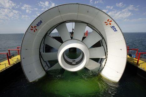 Hydrolienne : à Paimpol-Bréhat, l'électricité de demain se prépare sous la mer | Energies Renouvelables | Scoop.it